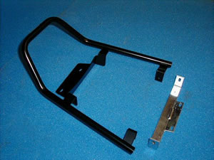 Honda CBR900RRW/X (1998-1999) Fireblade Pillion Grab Rail In Black