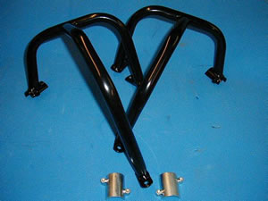 Yamaha XJ600N&S Diversion (1992-2004) Engine Bars In Black