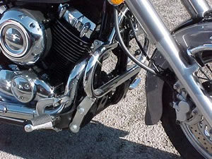 Yamaha XVS650 Dragstar/XVS650A Dragstar Classic Engine Bars In Chrome