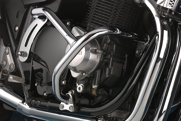 Suzuki GSX1400 (2001-2008) Engine Bars In Black