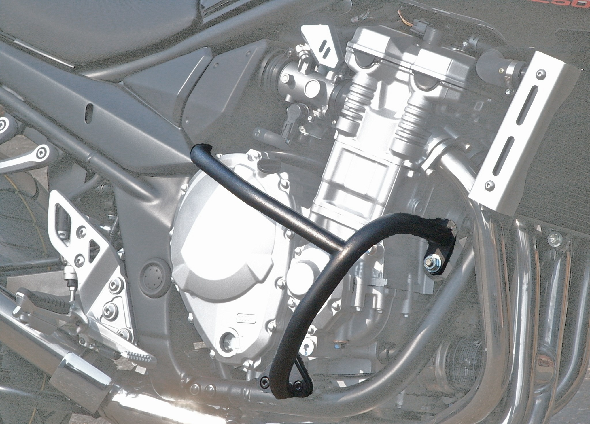 Suzuki GSF1250 K7-L0 (2007-2010) Bandit Engine Bars In Black