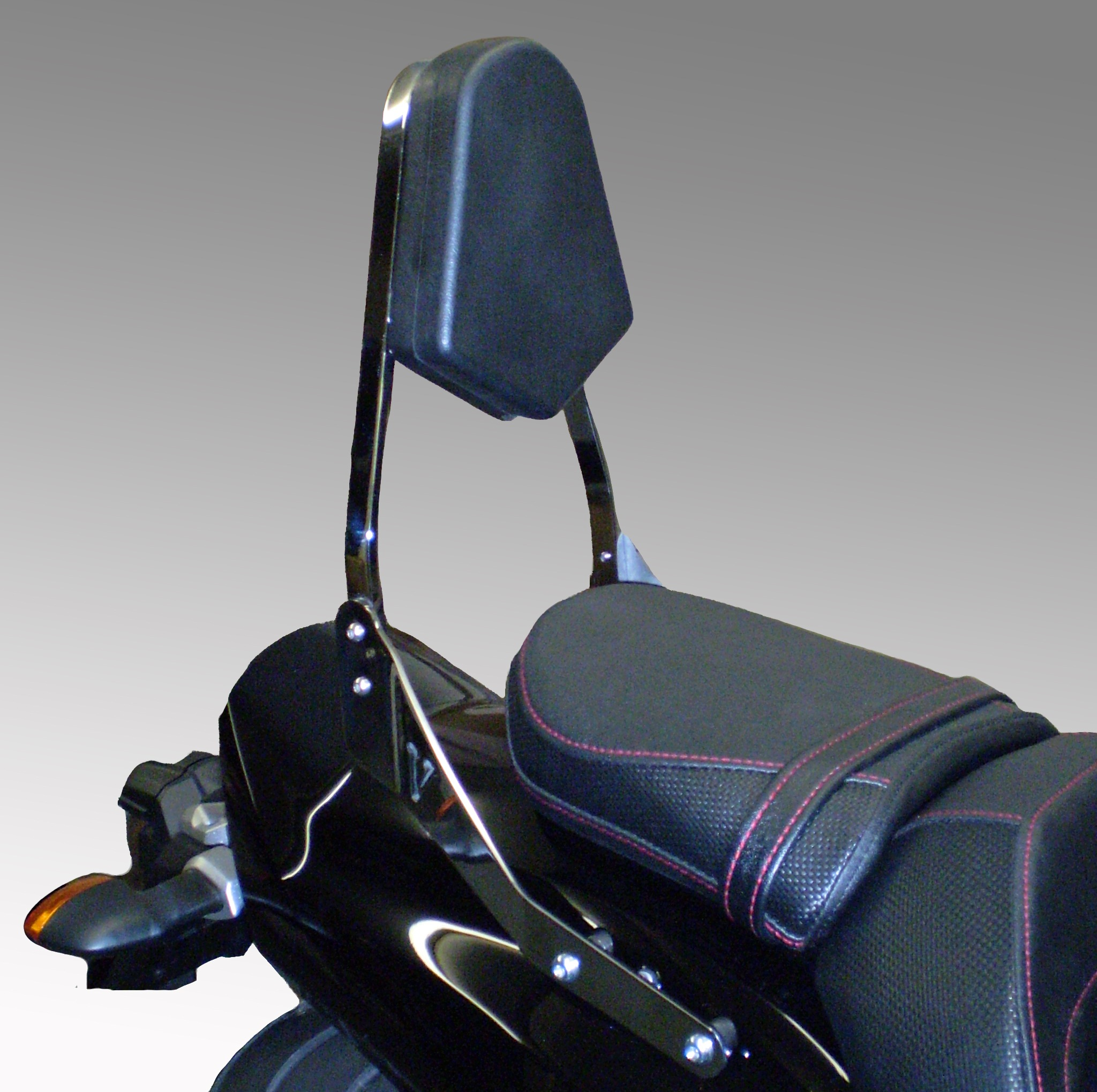 Yamaha V-Max 1700 Sissy Bar (Incl Padded Backrest & Brackets) In Black