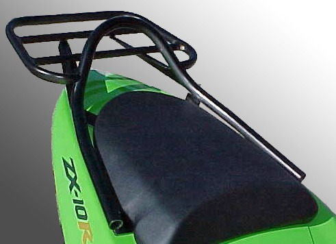 Kawasaki ZX10R (2004-2005) Luggage Carrier In Black
