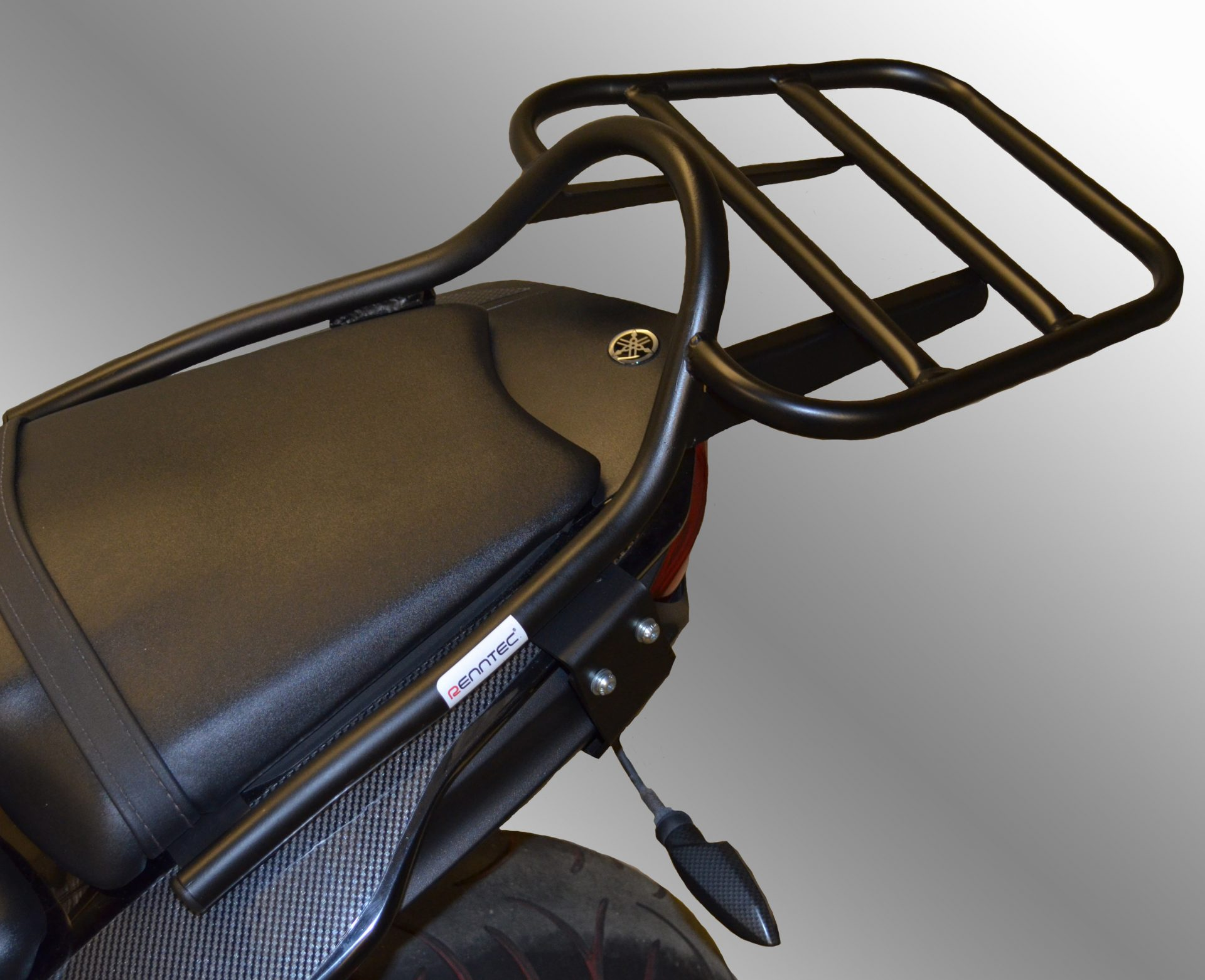 Yamaha FZ8 (2010-2014 Luggage Carrier/Top Box Rack In Black
