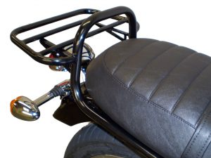 Triumph Scrambler 865cc A/C (2006-2015) Luggage Carrier/Top Box In Black