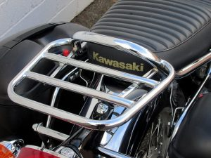 Kawasaki W800 (2011-2016) Luggage Carrier/Top Box Rack In Chrome
