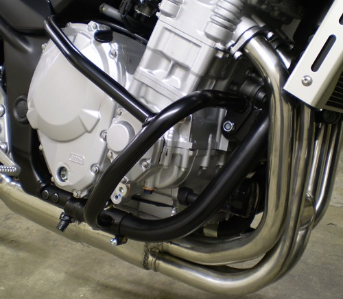 Suzuki GSF650 S/SA (K7- 2007 Onwards) (Water Cooled & Fuel Injection) Engine Bars In Chrome