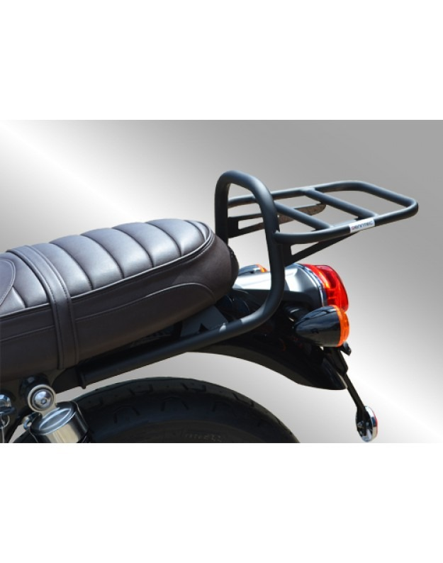 Triumph Bonneville T120/Street Twin /Street Cup/Bonneville T100 (WC) (2016-) Luggage Carrier/Top Box Rack In Black