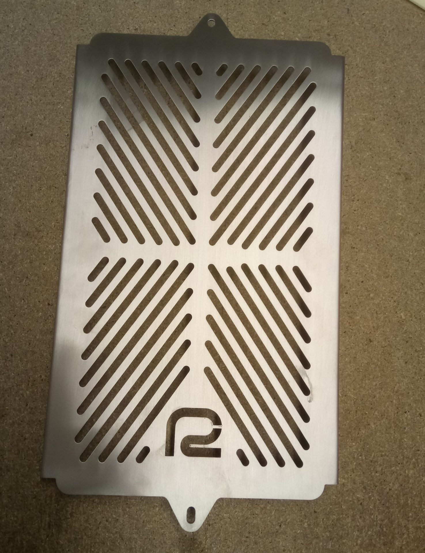 Radiator Grill In Stainless Steel